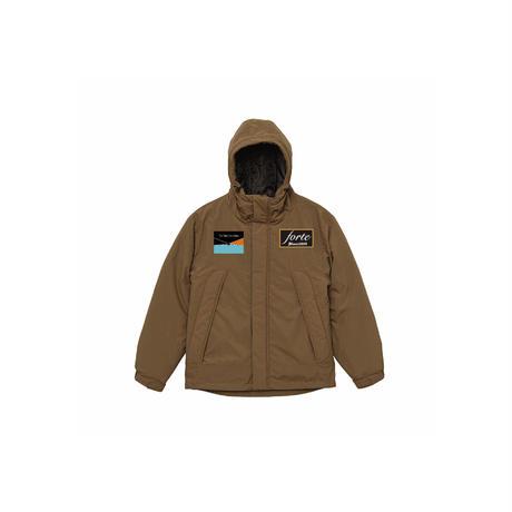forte Original Puffer Jacket(Black/Brown/Olive)