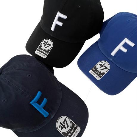 "forte Big""F""Clean Up Cap(Navy)"