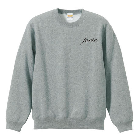 forte crew neck sweat(Grey)