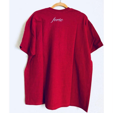 "forte""ETERNITY BLUE""T-shirts(Antique Red) - General Price"