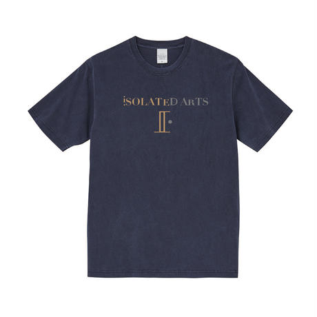 iSOLATED ARTSピグメントダイT-Shirts(Navy)