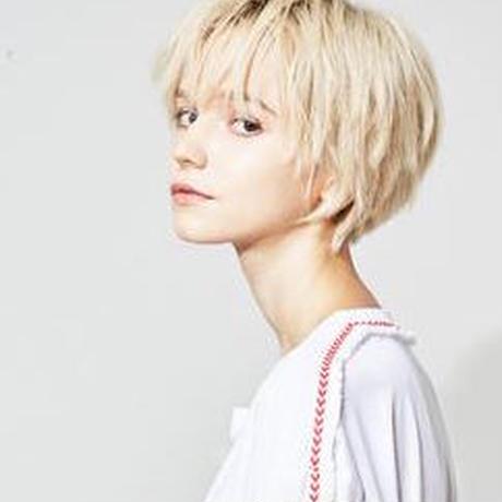 "forte × Alice Korotaeva Essentials""Future""Over Sized T(White)"
