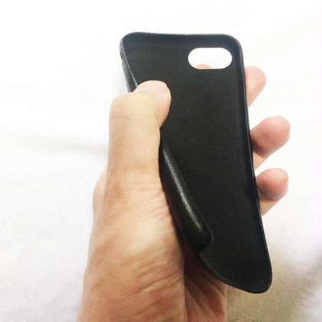 forte Leather iPhone Case (Blackレザー)