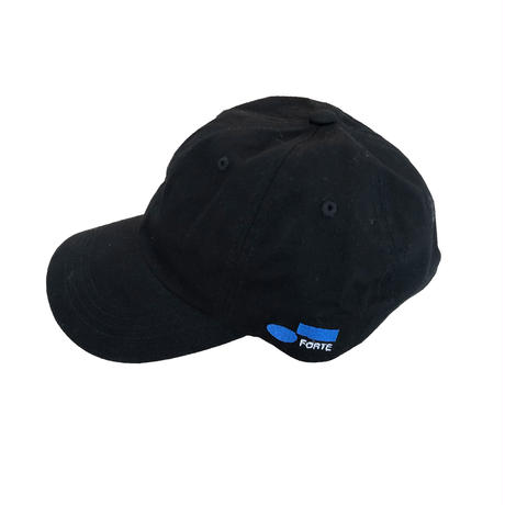 forte Side Embroidery 6panel Cap(Black)