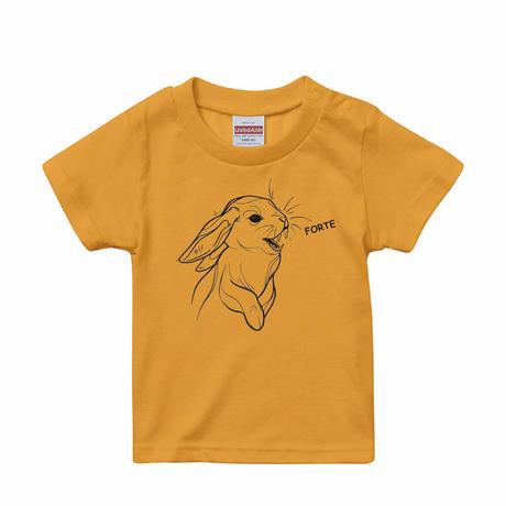 forte×Alice Korotaeva 3rd Collection - Usagisann Kids-T(4Colors)