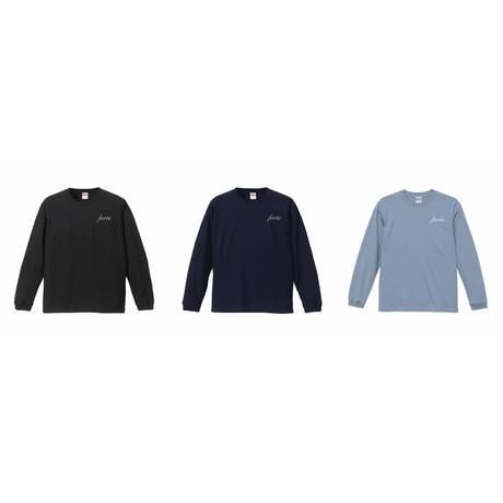 forte Authentic Logo L/S T-Shirts(Black/Navy/Acid Blue)