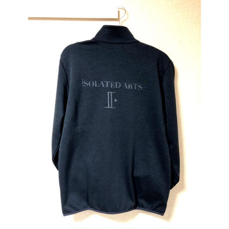 "iSOLATED ARTS""Double Black""Zip Up Truck Top"