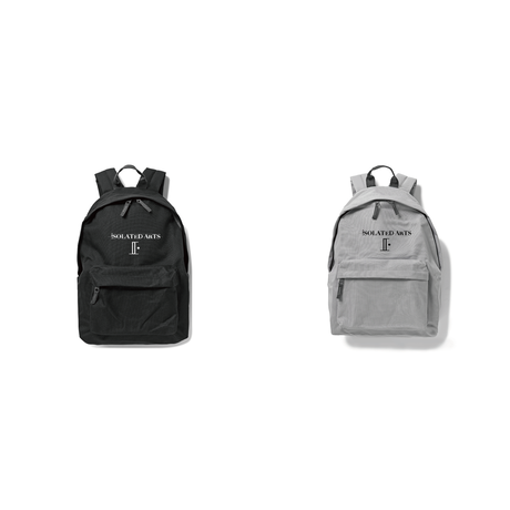 "iSOLATED ARTS""譜面""Backpack(Black/Gray)"