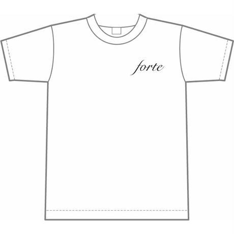 forteオーガニックコットンTシャツ(White)