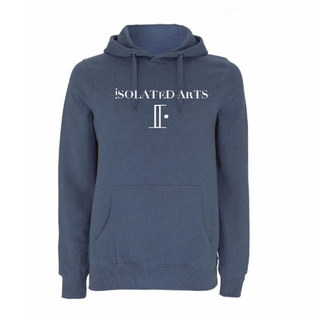 iSOLATED ARTSオーガニックコットンPull Over Hoodie(Navy)