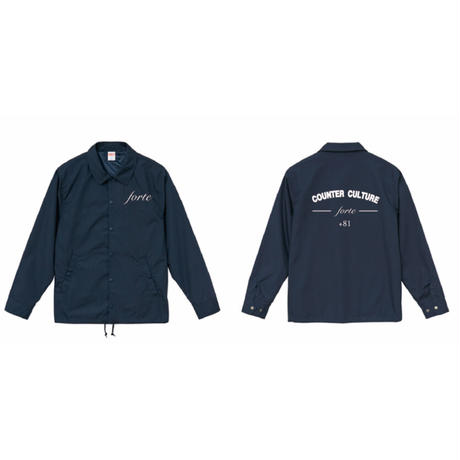 forte COUNTER CULTURE コーチジャケット(Navy)