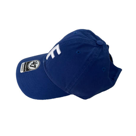 "forte Big""F""Clean Up Cap(Royal Blue)"