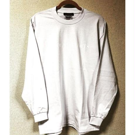 "iSOLATED ARTS Official Long Sleeve T-shirts""Double""(White)"