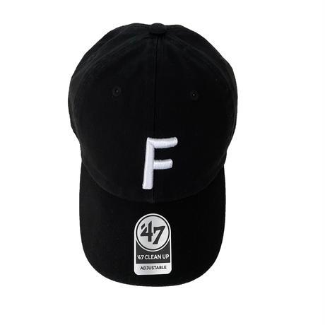 "forte Big""F""Clean Up Cap(Black)"