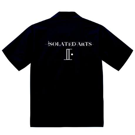 iSOLATED ARTS Open Collar Shirts(Black)