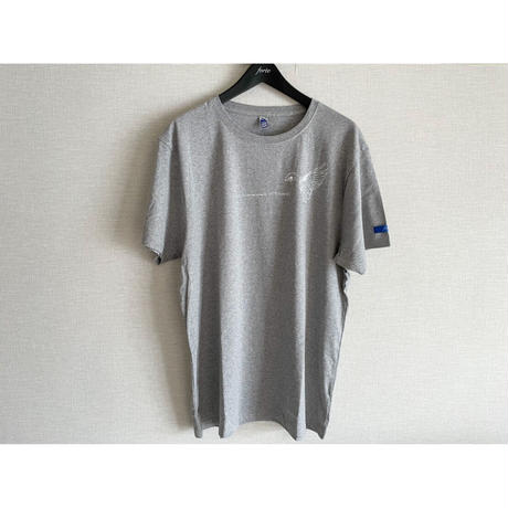 forte×Alice Korotaeva 2nd Collection Fairtrade Organic Cotton T-Shirts(Melange Grey)
