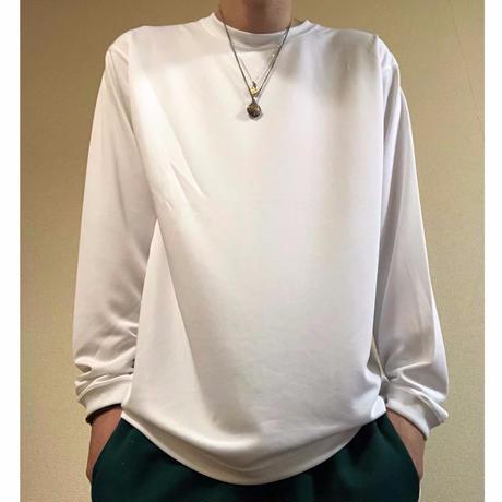 forte Dry Silky L/S Plain T-Shirts(White)