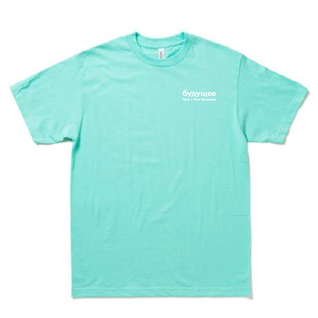 forte×Alice Korotaeva Essentials Mini Logo T-Shirts(セラドン)
