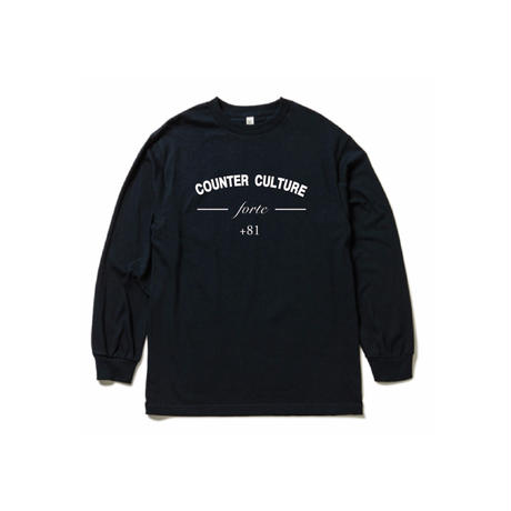 forte 2021 COUNTER CULTURE L/S T-Shirts(Navy)