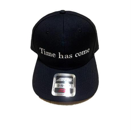 The Time Has Come-Baseball CAP-Prototype(Black)