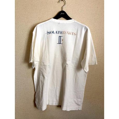 iSOLATED ARTSピグメントダイ Pocket T-Shirts(Vintage White)