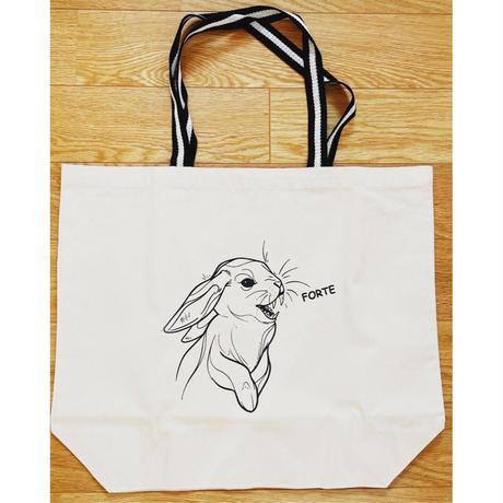 forte × Alice Korotaeva 3rd Collection Usagisann Tote Bag