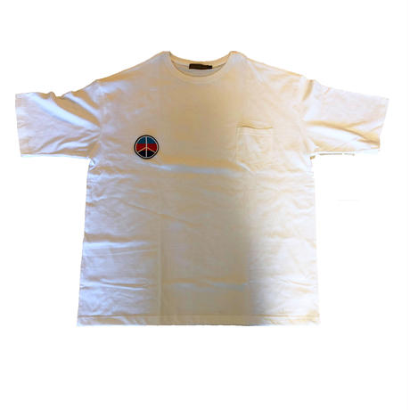 "iSOLATED ARTS Big Silhouette ""Peace""T-shirts(Type-C)"