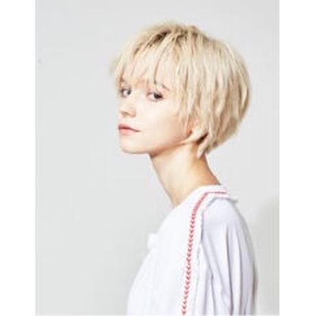 forte×Alice Korotaeva 3rd Collection - Kirin L/S T-Shirts(White)ビッグシルエット