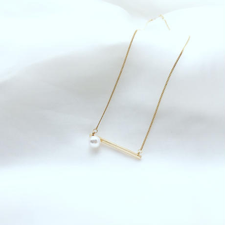 point pearl necklace