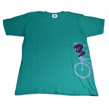 ちゃりねこTシャツ Run through CNT01