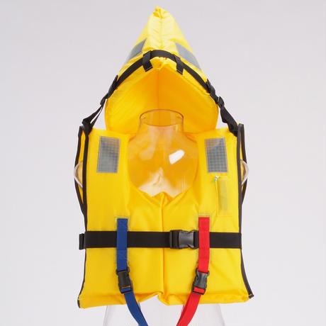 水難防災個人保護具/幼児サイズ、省スペース収納タイプ