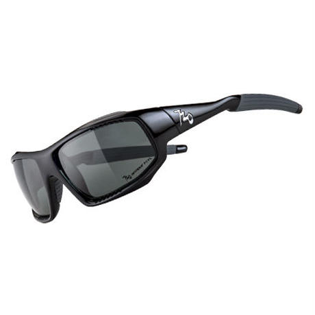 720 armour B339 Rock B339-1-PC-Glossy Black/Polarized Smoke  偏光レンズ  スペアレンズ付き