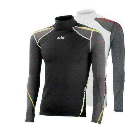 4420 Men's Sport UV Rash Vest Long Sleeve グレーSサイズ