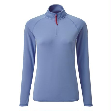 UV009W Women's UV Tech Long Sleeve Zip