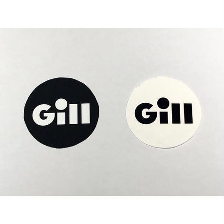 新発売!! Gillサイナーズセイルステッカー 8cm 丸形