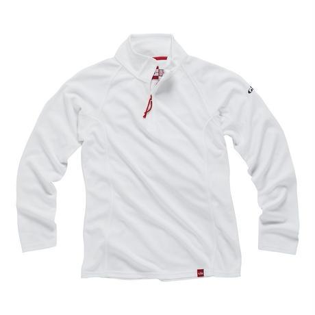 UV003W Women's UV Tec Zip Neck Long Sleeve Top