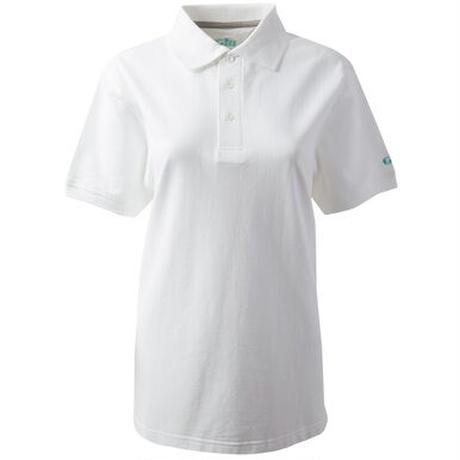 Women's Polo Shirt CC013W ホワイト10号