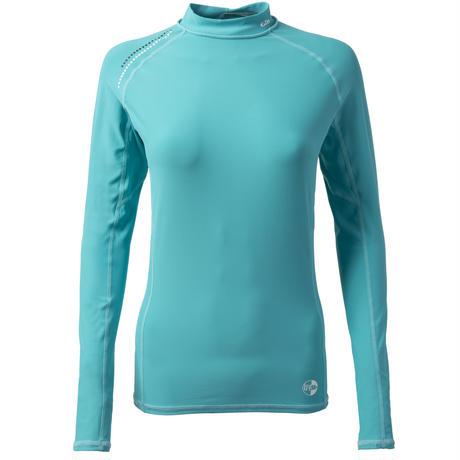 4430W_Women's Pro Rash Vest - Long Sleeve