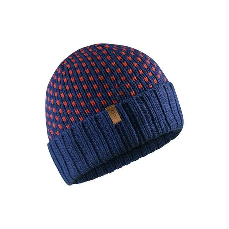 HT39_Jacquard Knit Beanie