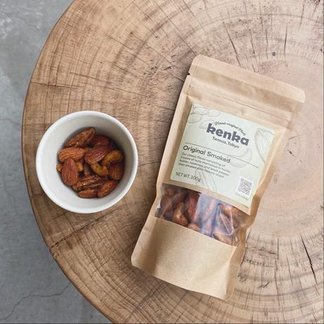 【kenka】Original Smoked Nuts  オリジナルスモークナッツ(100g)