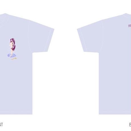 舞花Birthday Tシャツ【メンバーメッセージタグ付き】 パープル