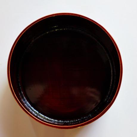 春慶塗の丸メンパ弁当箱 小