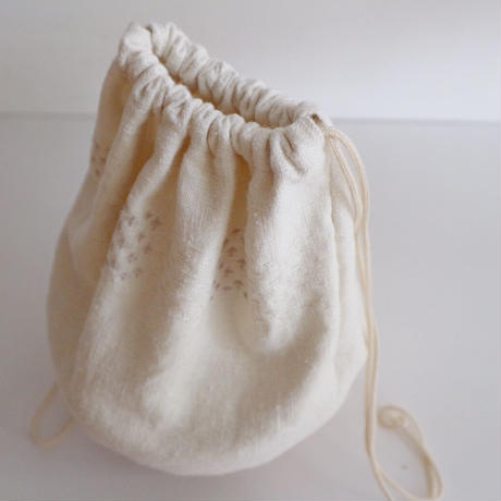 sugi chikuchiku  kinchaku bag