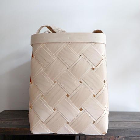白樺のかごバッグ M