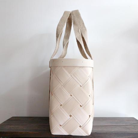 白樺のかごバッグ S