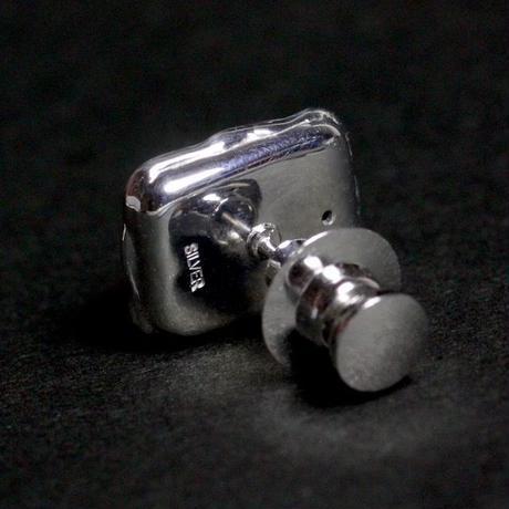 天然ボルダーオパールシルバー製タイピン6.75ct(ロジウムメッキ