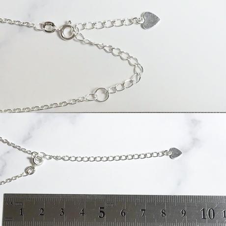 お取り置き中!天然アイアンオパール純銀(SV1000)ネックレス2.08ct原石から磨いた1点もの