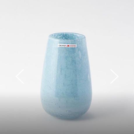 Henry Dean 『Stromboli XS』しずく型の小サイズのパステルブルー