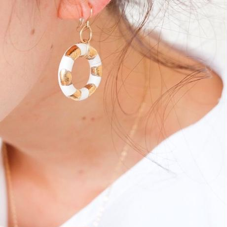 ring gold pierce  [lines]