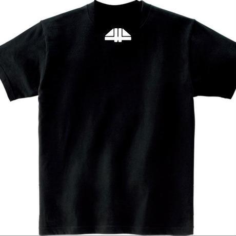 fourth floor Tシャツ黒 type2